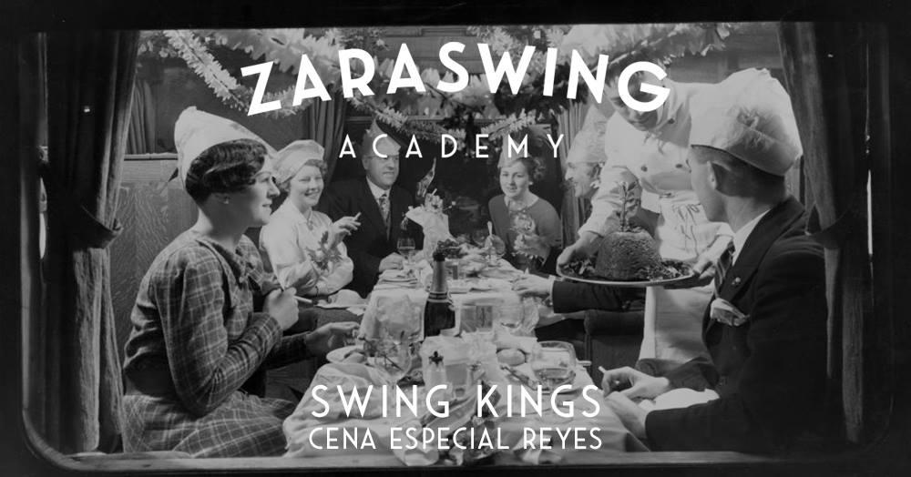 El 5 de Enero, ¡cena de Reyes y fiesta con concierto Swing Kings 2018!