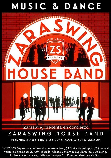 Vuelve la Zaraswing House Band