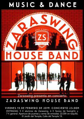 Zaraswing House Band ¡Concierto y Baile Social!